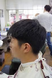 髪型トップを整えてフェードカットメンズカットメンズヘア