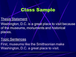 the body paragraph parts of an essay location essay between  class sample topic sentences first museums like the smithsonian make washington d c