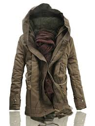 men s fashion winter military trench coat ski jacket hooded parka thick cotton