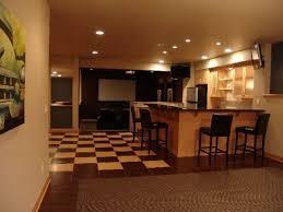 organized home bar with warm lighting bar lighting ideas
