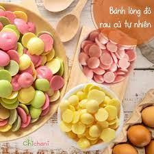Bánh ăn dặm rau củ tự nhiên handmade - lòng đỏ trứng gà nguyên chất  Chichani - Thế giới ăn dặm cho bé