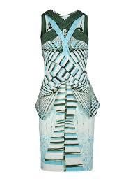 Peter Pilotto Size Chart Peter Pilotto Ln Cross Front Dress