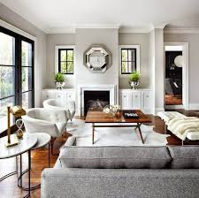 neutral tones and clean lines for contemporary living built in living room furniture