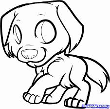Golden Retriever Puppy Coloring Pages Printable - Coloring Home
