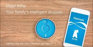 kenmore alfie. alfie - your family intelligent shopper kenmore e