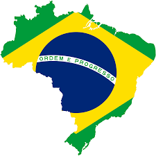 File:Map of Brazil with flag.svg ...