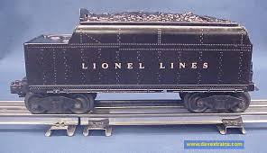 dave s trains inc postwar lionel steam engines tenders photo of the right side of the tender