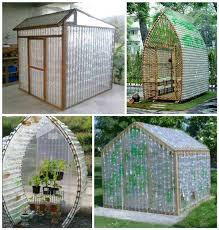 how to build a greenhouse from recycled plastic bottles
