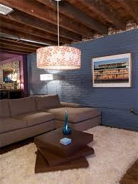 unfinished basement lighting. love this blue color for the house exterior an unfinished basement stain ceiling paint walls put in wooden floors myhousemyhome lighting g