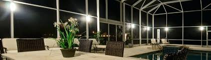 home design sunset lighting sconce light for pool enclosures diy cage