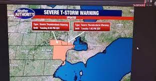 Severe Thunderstorm Warnings for ...