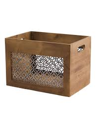 Decorative Storage Boxes For Closets Lined Storage Baskets White Storage Baskets Metal Bins For Sale 25