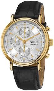 gold watches online stuhrling prestige men s 363 333519 prestige gold watches online stuhrling prestige men s 363 333519 prestige swiss made automatic valjoux 7750 paradigm chronograph gold