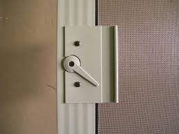 fix sliding screen door lock saudireiki