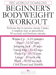 no equipment needed workout for women