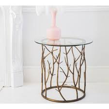 glass side table. Glass Side Table