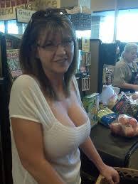 Milfs caught in public