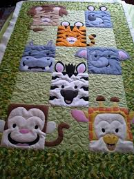 638 best BABY QUILTS images on Pinterest | Baby quilts, Pointe ... & Jungle Friends Quilt Pattern by Willow Bay Designs Adamdwight.com