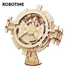 <b>Конструктор Robotime</b> ROKR с вечным календарем, <b>3D</b> пазл ...