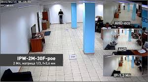 Сравнение видеокамер <b>AHD</b> и IP <b>камер</b> видеонаблюдения ...