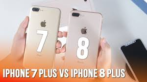 So sánh điểm khác biệt giữa iPhone 7 Plus và iPhone 8 Plus - YouTube