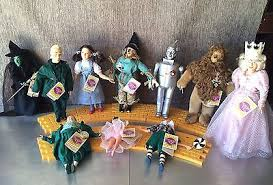 set of 10 wizard of oz collector dolls yellow brick road presents hamilton gifts