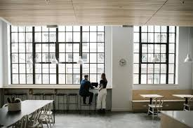 Modern design office Contemporary Large Blackframed Windows Maintain The Original Character Of The Building While Drawing In Thesynergistsorg Best Modern Office Design Photos And Ideas Dwell