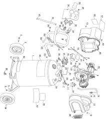 dewalt air compressor parts. dewalt d55168 type-1 parts schematic dewalt air compressor