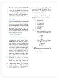 Lakme Salon Price Chart Lakme Marketing Strategy