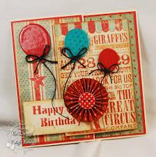 Folded Birthday Card Cw Card Creations Folded Birthday Card