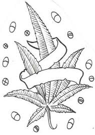 Small Picture Rise and Shine Its Wake and Bake Time Marijuana Themed Coloring