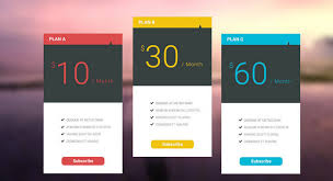Pricing Table Templates 25 Free Pricing Table Psd Templates 2018 Themelibs