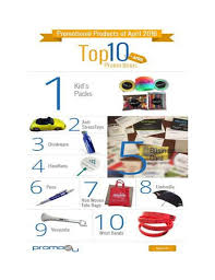 Top Promotional Top 10 Promotional Products Of 2016