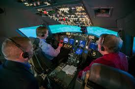 United Airlines Execs Check Out Nasa Langley Aviation Technology Nasa