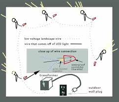 landscape lighting wiring diagram wiring landscape lights low voltage outdoor lighting wiring diagram plus lights the