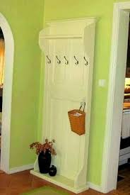 Repurposed Coat Rack How To Repurpose An Old Door Into A Coat Rack DIY Bullseye 84