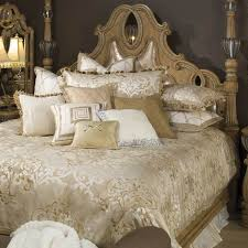 michael amini luxembourg bed cover
