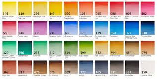 Winsor And Newton Cotman Color Chart Winsor Newton Cotman Watercolour Half Pan Refill