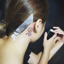 Dream Catcher Tattoo Behind Ear 100 Best Catcher Images On Pinterest Dreamcatcher Tattoos Dream 69