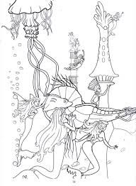 Barbie Mermaid Coloring Pages Getcoloringpagescom