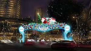 orchard road christmas light up visit