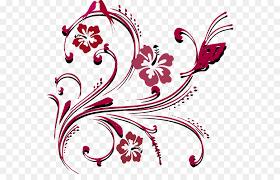 wedding invitation clip art scroll pattern