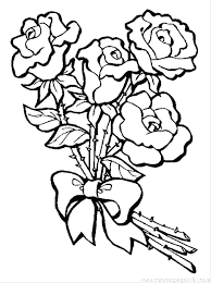 free coloring pages of roses roses coloring page coloring page rose coloring page rose s bouquet