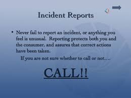Incident Accident Reporting