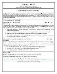 Administrative Assistant Resume Objective Sample Resume Sample For Administrative Assistant The Best Administrative 70