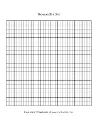 Blank Grid Paper Numbered Coordinate Graph Paper Worksheets For All
