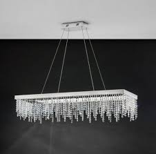 Luxury Pendant Lighting Uk Antelao Rectangular Linear Led Ceiling Light Pendant Eglo Lighting