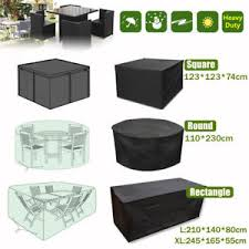 Rectangular patio furniture covers Waterproof Very Attractive Garden Furniture Covers Waterproof Rectangle Rattan Cube Cover 10 12 Seater Outdoor Image Is Loading And Argos Ijtemanet Cozy Ideas Garden Furniture Covers Waterproof Garden Patio Furniture