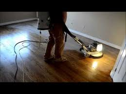 how it s done sanding staining varnishing hardwood floor