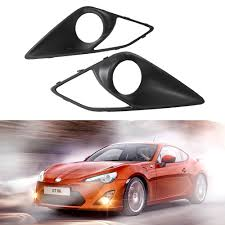 2pcs/lot New Carbon Fiber Front Fog Light Covers for Toyota GT86 ...